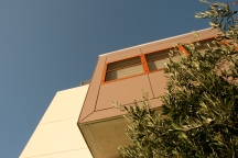 Upper storey addition looking upwards