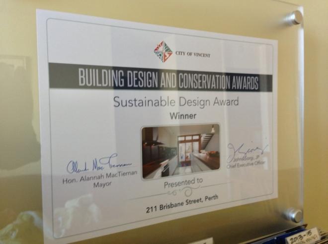 City of Vincent Building Design & Conservation Awards