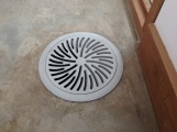 Floor vent for the HVAC system.